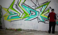 Ewok 5MH Graffiti Video