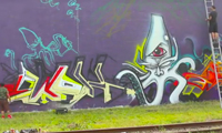 Ewok, Mask & Jick Graffiti Video