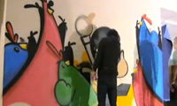 EyeOne and Cache Time Lapse Graffiti Wall