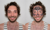 Vice – I Had a Face Tattoo For a Week