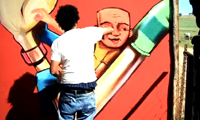 Falko Graffiti Splitpiece