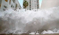 Sony Bravia Advertisment Turns Miami Into A Bubble Bath