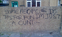 Funny Wall Graffiti