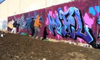 GH Crew Paints RT Line Scarborough