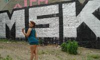 New York Girls Love MSK Graffiti