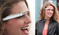 Google Augmented-Reality Glasses