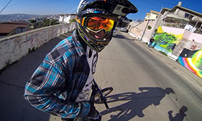 GoPro Visits the Valparaiso's Hills in Chile