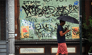 How did graffiti become respectable?