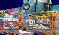 Graffiti Wall Over Time