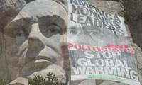 Greenpeace Posters Mount Rushmore