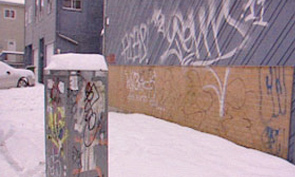 Halifax Graffiti Clean Up Before Canada Games