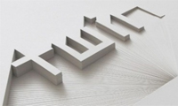 Hand-Cut Typography