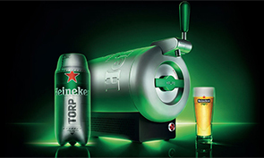 Heineken's Countertop Sub Beer Fridge