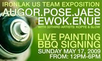 Ironlak USA Team Painting in LA