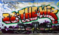Iz The Wiz Graffiti Tribute