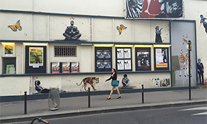 Jef Aerosol Street Art in Paris