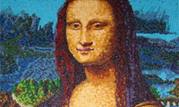 Famous Art Recreated Using Jelly Beans