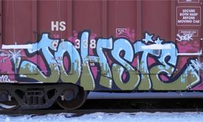 Visual Orgasm Freight Graffiti