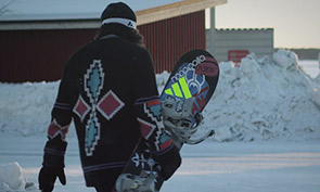 Kalle Ohlson Snowboarding Spotlight