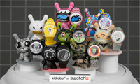 Kidrobot & Swatch Stop Motion Animation