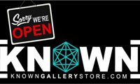 Known Gallery Store Open for Business