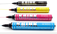 New CMYK Krink K-70 Markers