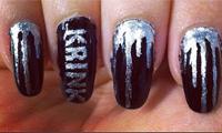 Krink Painted Fingernails