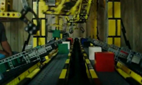 Lego Assembly Line Robot