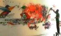 Live Painting by Chor Boogie, Cena7, Emol & Obranco