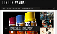The London Vandal Online Shop