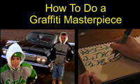 Lush – How To Do a Graffiti Masterpiece