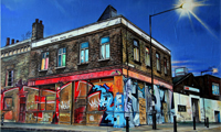 Marc Gooderham Urban Decay Paintings