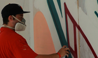 Melo Store Front Painting
