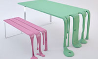 Smooth and Smoothie Melting Table