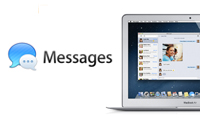 Mac OS X Messages