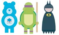 Minimalist Shape Characters