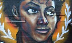 Michael Jackson Graffiti by Elicser