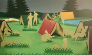 Moleskine Notebooks Stop-motion Animation