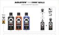 Molotow Transformer Refills