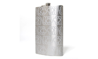 MQ Graffiti Etched Flask