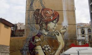 Faith47 & DAL Mural in Greece