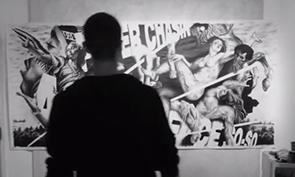 Noir Time-lapse Painting