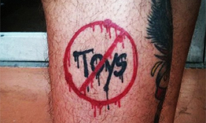 No Toys Tattoo