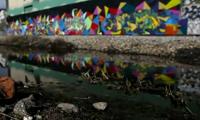 Oakland Night Graffiti