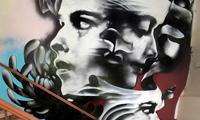 Omen Graffiti in Shopify Offices