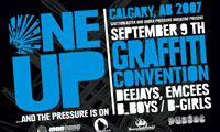 One Up Graffiti Event