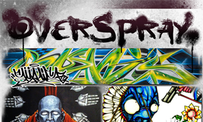 Overspray Art Opening in Vancouver