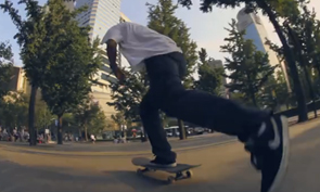 A Panoramic Look at Skateboarding in Shanghai