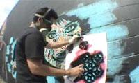 PaperMonster Graffiti Video