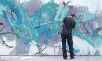 Persue Graffiti in Shenzhen